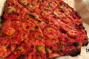 Sally's Pzza in New Haven