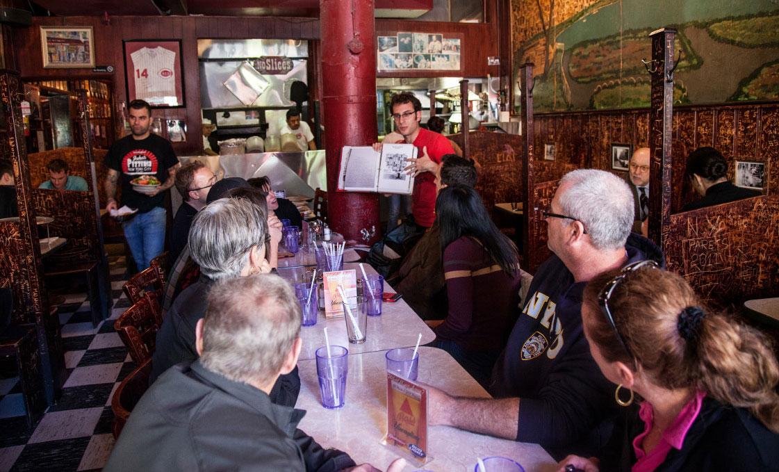 Scott's Pizza Tour at John's Pizza